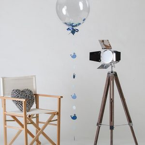 under the sea confetti filled balloon