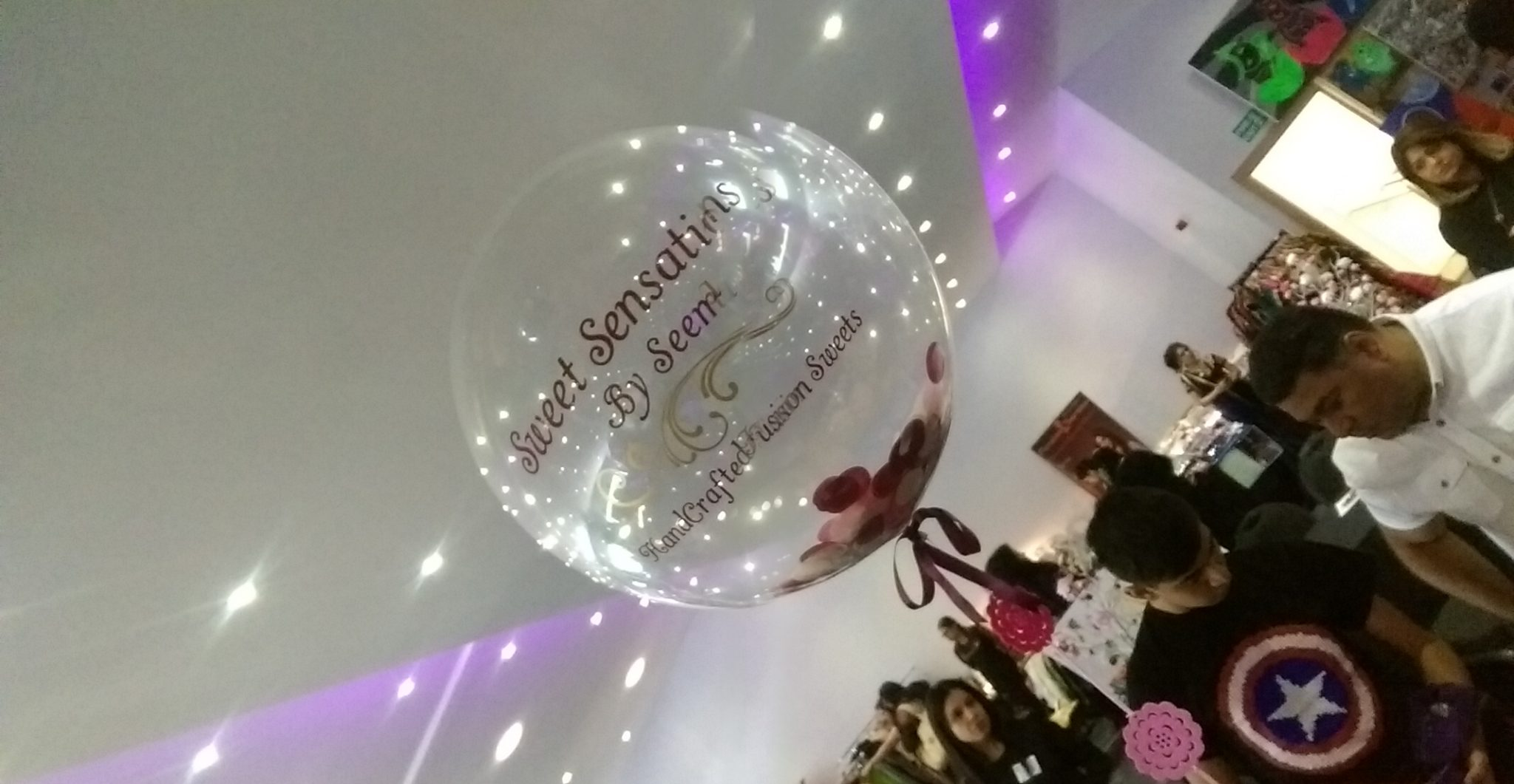 company name balloon