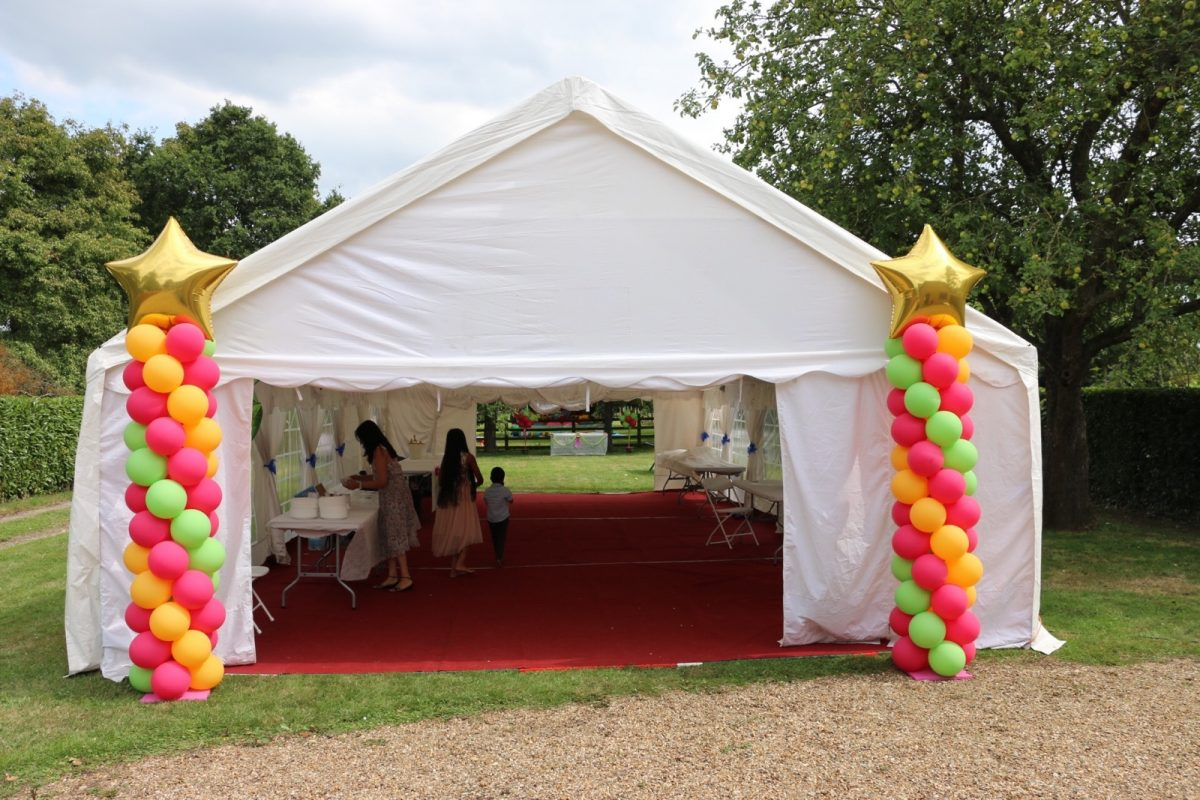 Branded Balloon Columns – For Promotions,  Exhibitions & Parties
