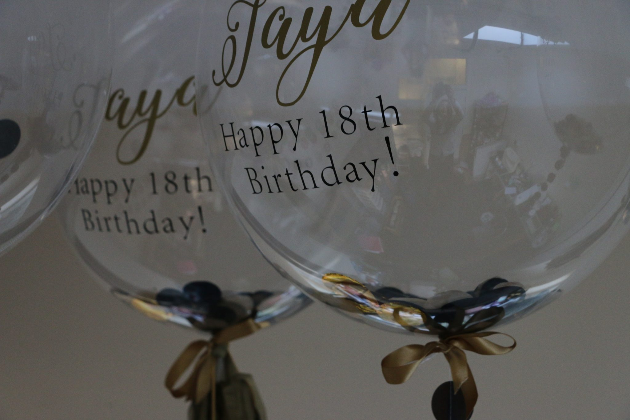 personalised 18th Balloons