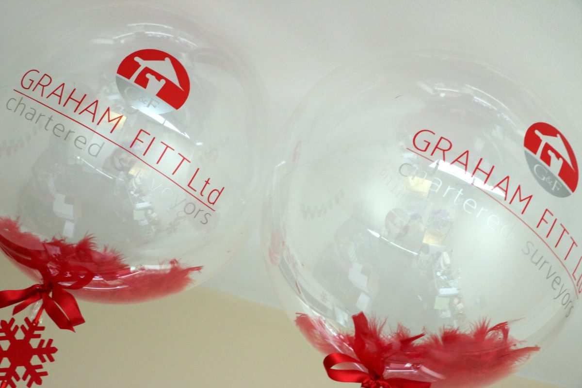 How our branded logo balloons help you get noticed.