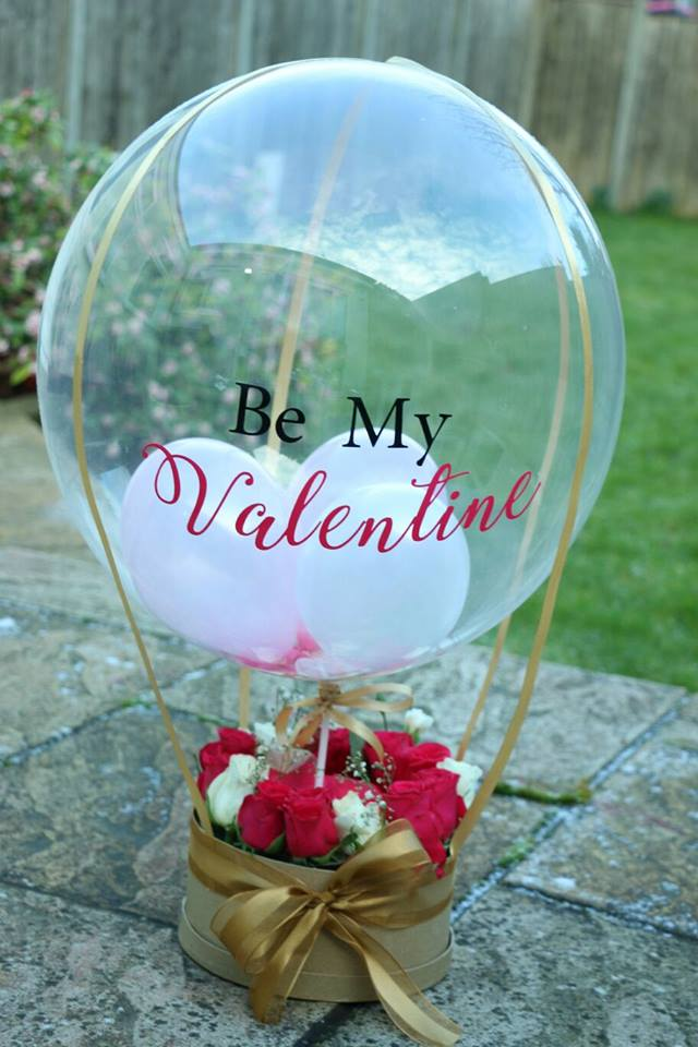 Valentine's Balloons with a difference